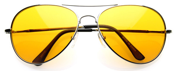 Classic New Multi Color Lens Mirrored Aviator Sunglasses