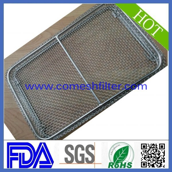 Food grade 316 stainless steel mesh wire mesh baskets