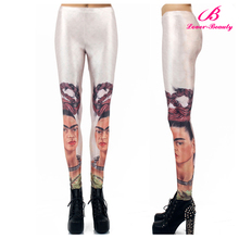 Fast delivery custom printed girls pictures sexy pantyhose leggings