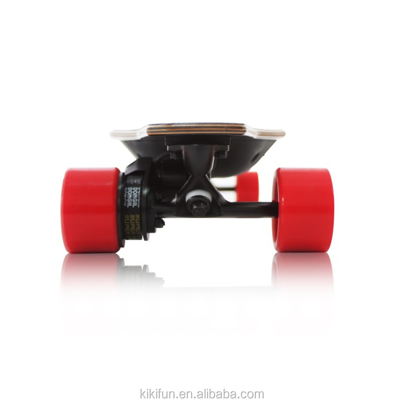 Electric skateboard four nice wheels