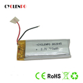 3.7v lipo battery 700mah li ion polymer battery 802045 LIPO with wire