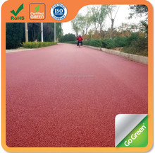 Go Green Colored Asphalt/cold mix color asphalt micro paving material