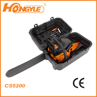 "hot sale 52CC CE petrol chain saw 5200 with 20"" bar"