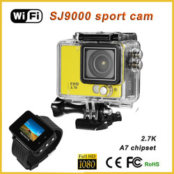 full hd 1080P 2.0inch screen digital zoom hd digital video camcorder dv camera, wifi sport camera waterproof cam action helmet
