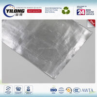 Heat reflective aluminum foil insulation padded with EPE foam