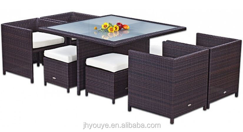 2016 Top quality indoor dining set and outdoor balcony coffee table