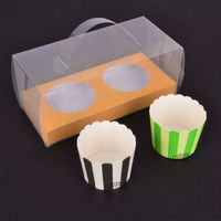 #1 BAKEST Rectangular PVC packaging Box for Cake/Bread/Jelly//Food Package