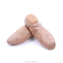 5364 Dance Shoes, Slip on Jazz Shoes, Leather Unisex Jazz Dance Shoes