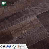 12mm HDF Floating Cheap Cottage Villa Weathered Barnhouse Oak Wood Brushed Handscraped Texture Laminate Flooring