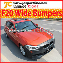 New 1 Series M Tech Wide Body Kit F20 PU Bumpers for BMW