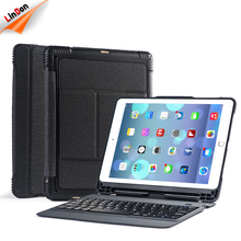 Premium PU Leather Tablet PC Case For iPad With Wireless Keyboard Function