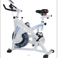 Indoor Cycling Bike Spinning Exercise Bicycle Cardio Trainer Fat Burner Gym Workout Spin Bike With New Design