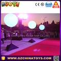 leg light inflatable pvc color balloon for party event