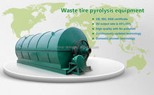 2012 highly oil yield waste scrap plastic pyrolysis oil recycling machine