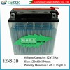 Green brand high quality ytz10s motorcycle battery