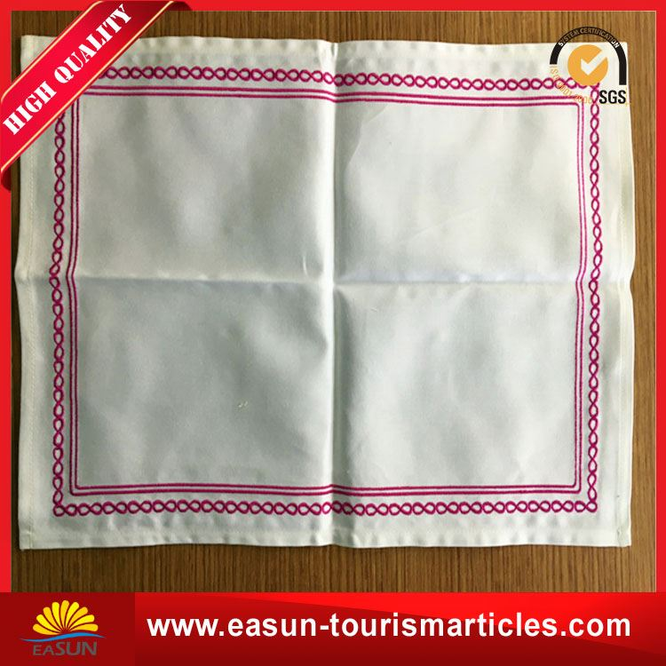 high quality table napkin for airline table napkin for in-flight airline napkin supplier