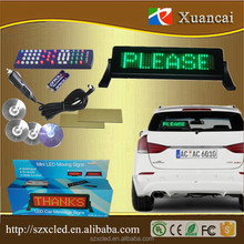 LED Scrolling Message Display Sign for SUV's, Trucks, Cars, Home or Office