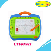Children 4 colors erasable magnetic drawing boards
