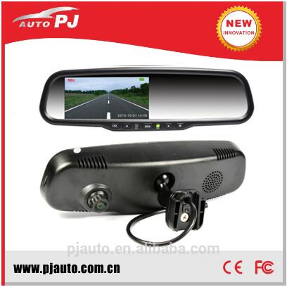 Wdr 1080p manual car camera hd dvr Mirror Monitor w/ Bluetooth Wifi Rear View Camera 1080P FHD DVR Mirror Monitor
