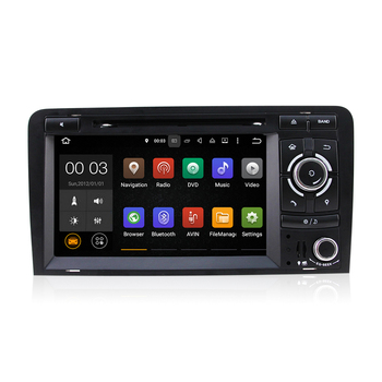 Winmark Android 5.1 Car Radio DVD GPS Player Stereo Sat Navi Quad Cord 7 Inch 2 Din For Audi A3 (2003 to 2013) DU7085