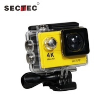 2.0 inch TFT LCD Screen Support Full HD 30 Meters Depth Diving Waterproof 4K Wifi Sport Action Camera Be Unique