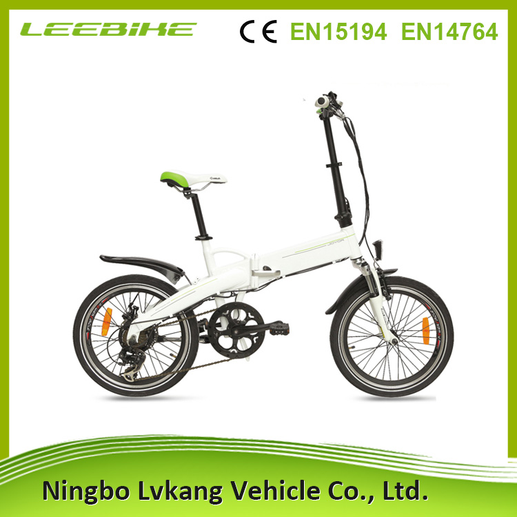 China Green Power Quality Wholesale Folding Electric Bike