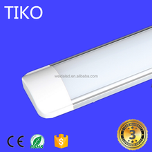 Led linear light fixture 4ft 1.2m 36W 40W 48W Indoor ceiling surface mounted LED Batten light tube/ flat led tube