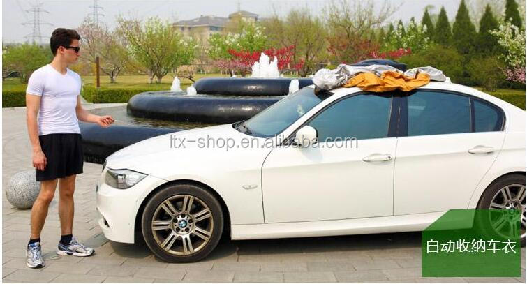 Smart Automatic Car Covers dust proof/water proof/snow protection Remote Control Automatic Car Covers