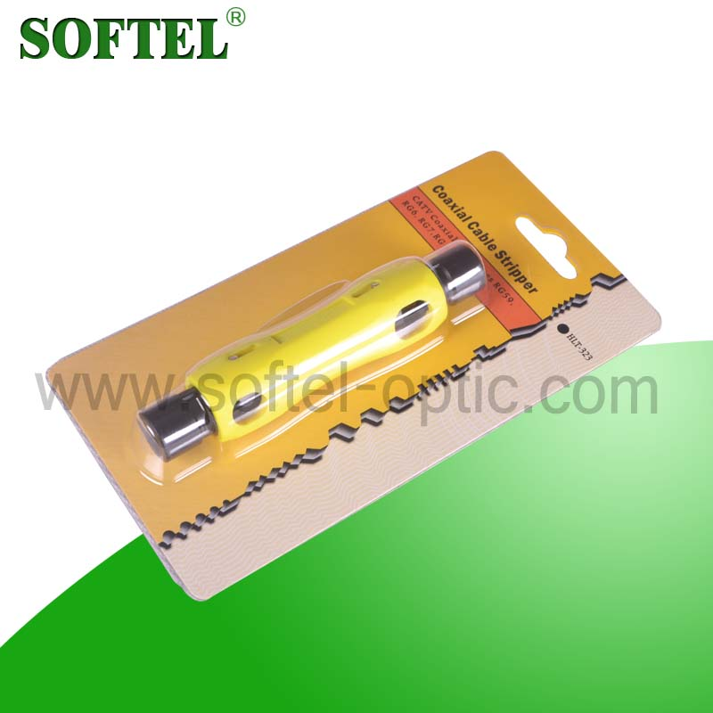 [SOFTEL]coaxial cable sheath stripper for RG-59/62/6/11/7/213/8 cable