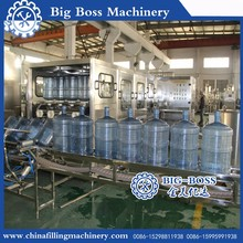 300BPH Automatic 5 Gallon barrel mineral water production line / filling machine in Suzhou