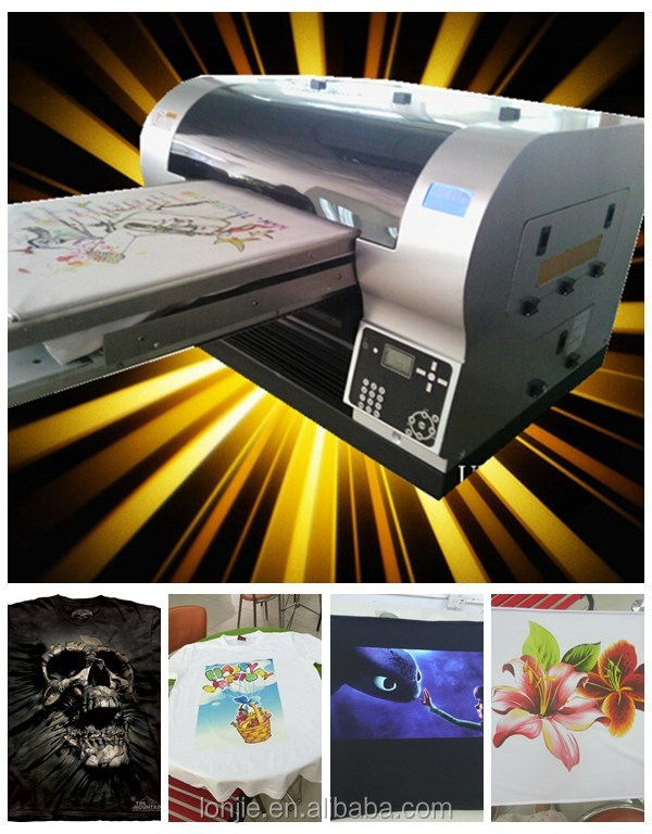 <strong>13</strong> years factory supply 8 color cheap Fabric Printer with RIP software