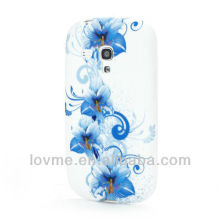 Blue Lily TPU Gel Frosted Case for Samsung Galaxy S III 3 MINI I8190
