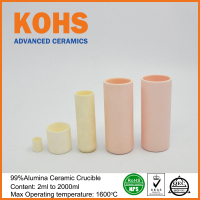 99% Alumina high temperature Ceramic Boat Crucible for melting
