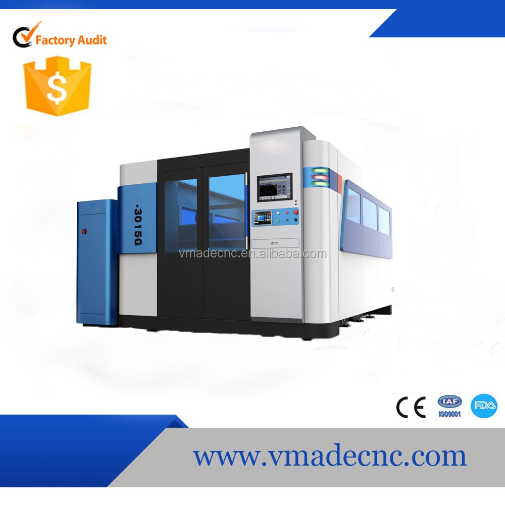 2017 January Great siege fiber laser cutting machine for process metal plate
