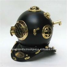 diving helmet -brass
