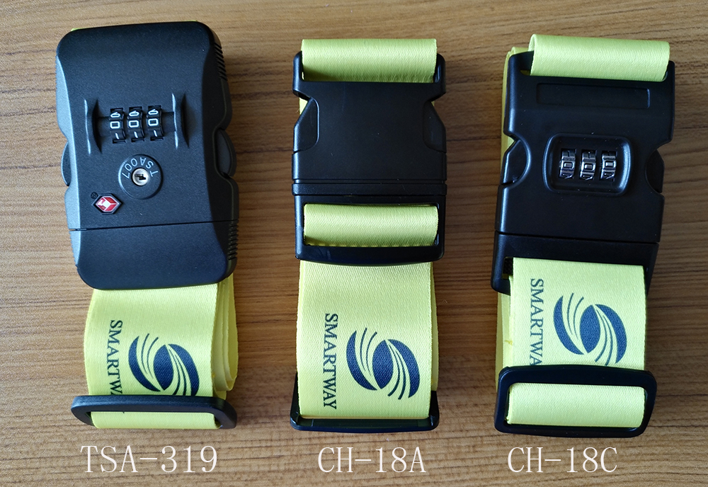 CH-18A Factory Produce 5cm*2m polyester PP belt TSA strap luggage belt