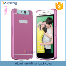 2017 wholesale Aluminum metal bumper sublimation mobile phone back cover case for oppo n1 mini n5111