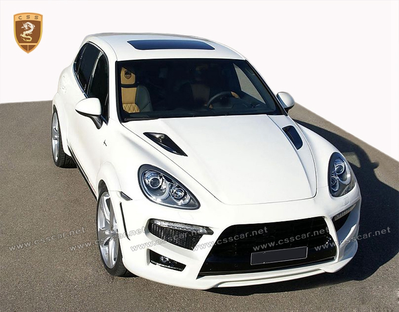 top sale extreme body kits for 958 cayenne 2012-2014 fiber glass material hofe styling