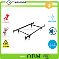 width 990mm / 1372mm Metal Bed Frame Centre legs