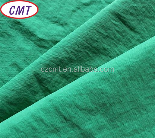 green Teflon fabric touch soft and feel comfortable