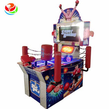 Street super boxing arcade game machine with video