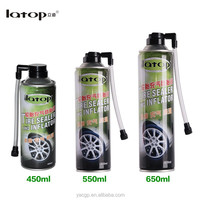 Tire sealer and inflator car repair tools tire repair spray aerosol tire inflator