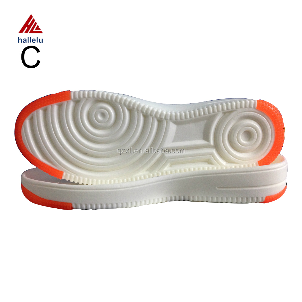 Hot Sale Cold Resistant Rubber Air Sneaker Shoe Soles Fashion Young Adult Flat Casual Shoes EVA TPR Outsole