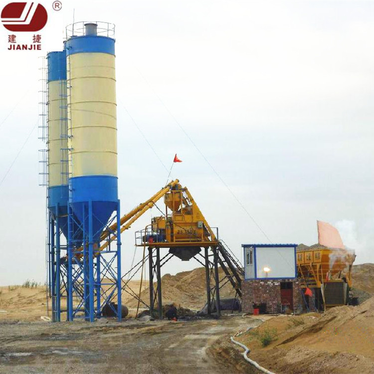 Competitve Price HZS25 Mini Concrete Mixing Batch Plant