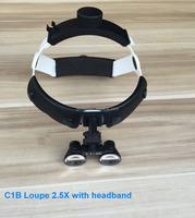 headband binocular loupes 2.5x dental surgical