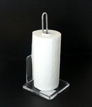 acrylic kitchen paper towel roll holder stand view paper towel holder product details from. Black Bedroom Furniture Sets. Home Design Ideas