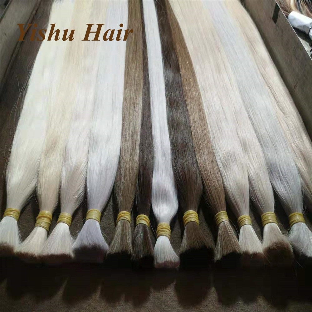 Hot Selling No Shedding Top Grade 8A9A10A Grade Virgin remy Chinese/Indian/Brazillian/Russian <strong>Hair</strong> 100% Raw Human <strong>Hair</strong> Bulk