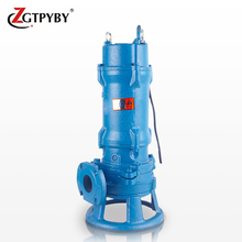 3hp submersible sewage solid waste pump underwater cutting dirty water pump in Thailand