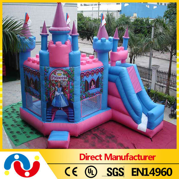 Hot sale inflatable princess bouncy castle/inflatable bouncer castle/air bouncer inflatable trampoline