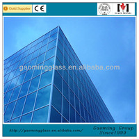 Tempered Glass Window Wall,Exterior Wall Designs,Exterior Curtain Wall Design